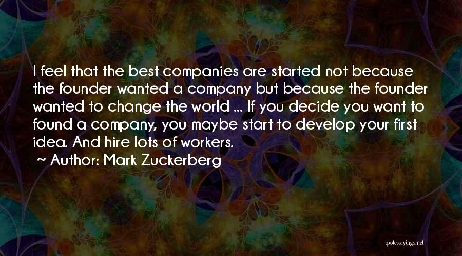 Mark Zuckerberg Quotes 889874