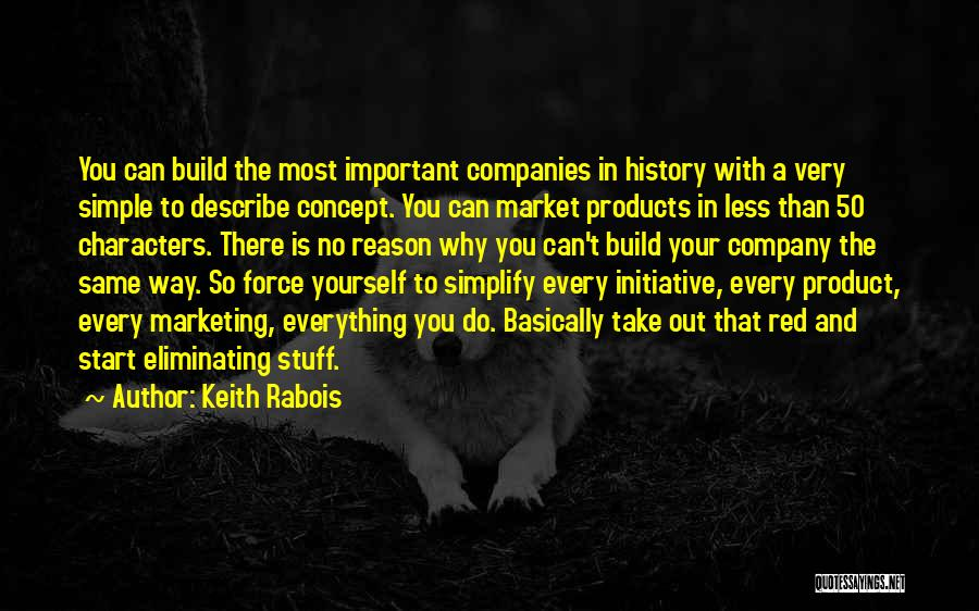 Marketing Yourself Quotes By Keith Rabois