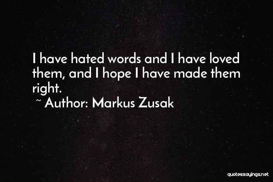 Markus Zusak Quotes 138976