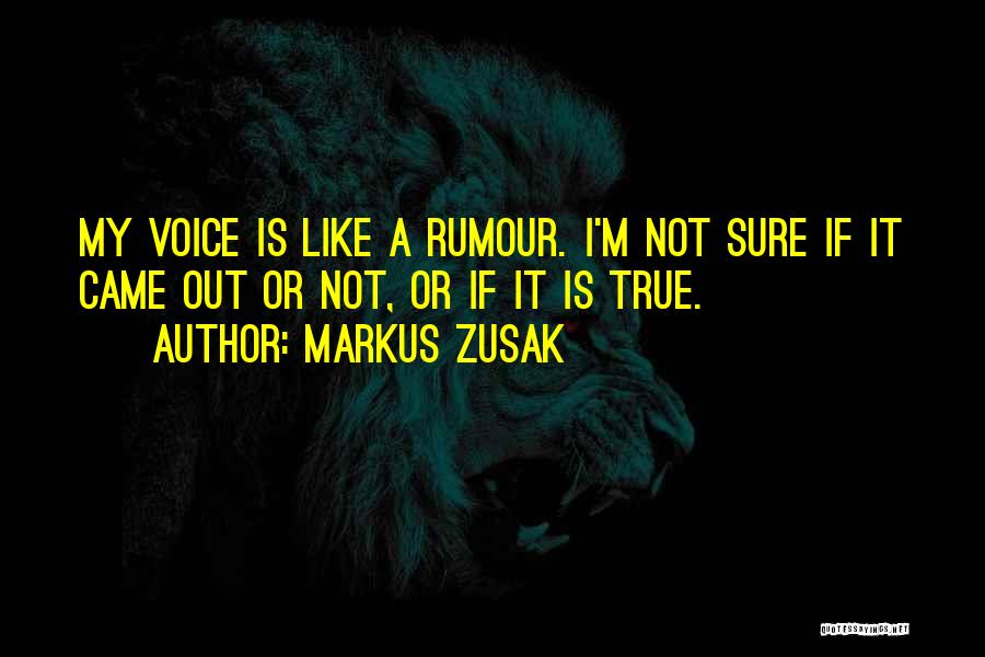 Markus Zusak Quotes 1956729