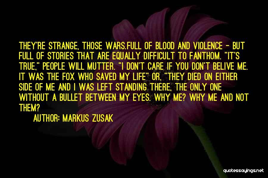Markus Zusak Quotes 530747