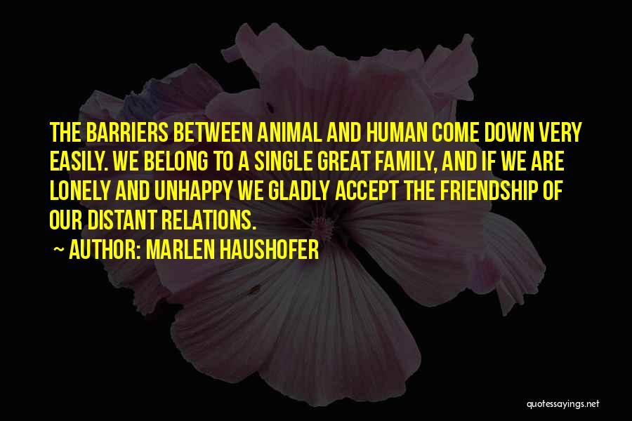 Marlen Haushofer Quotes 965021