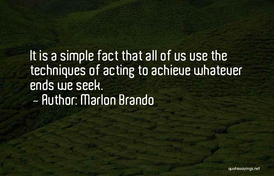 Marlon Brando Quotes 1531407