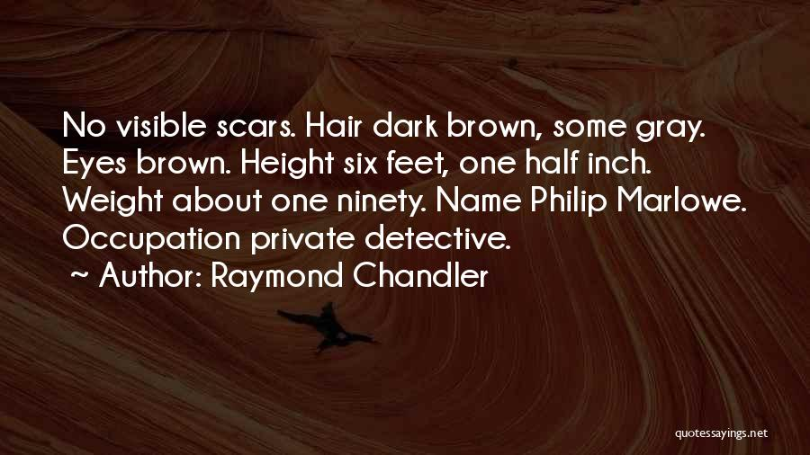 Marlowe Detective Quotes By Raymond Chandler