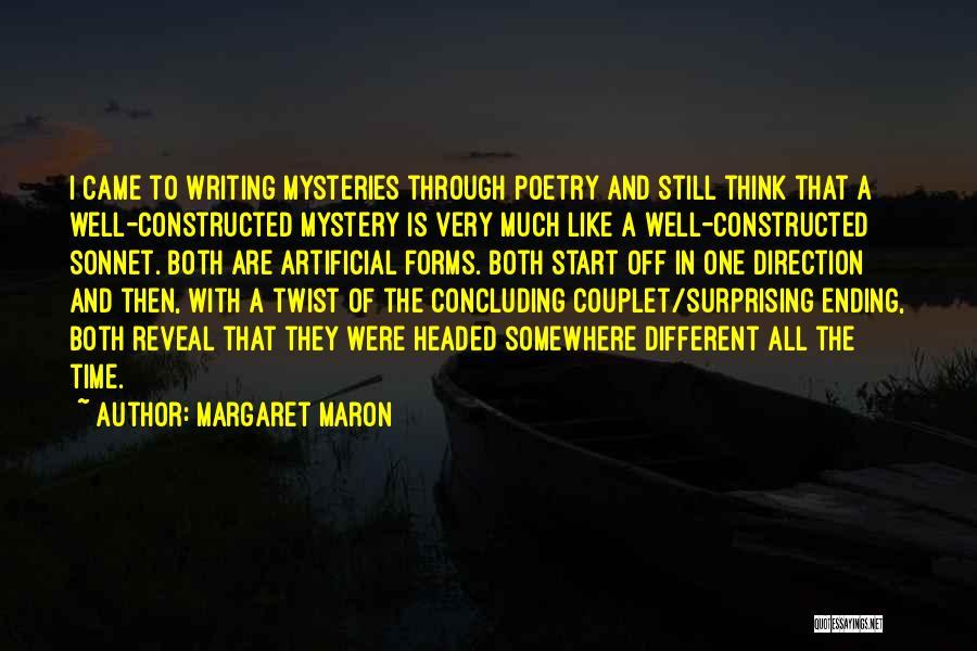 Maron Quotes By Margaret Maron