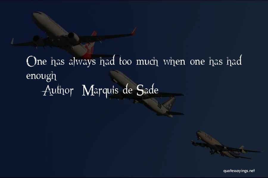 Marquis De Sade Quotes 1623703