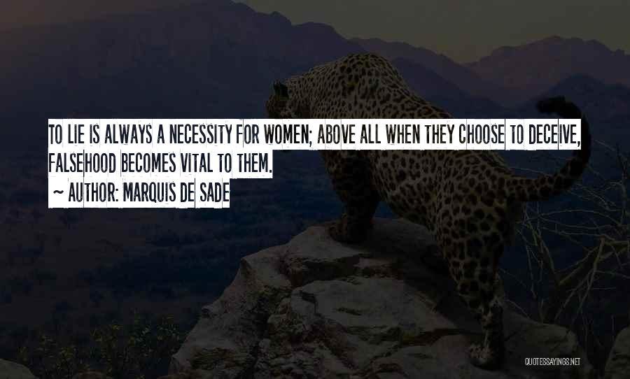 Marquis De Sade Quotes 720421