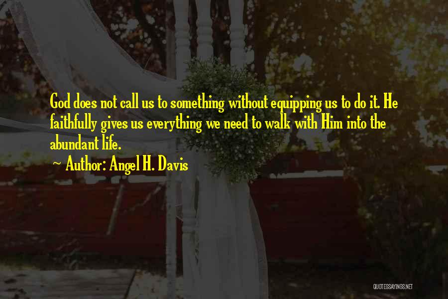 Marriage Counseling Quotes By Angel H. Davis