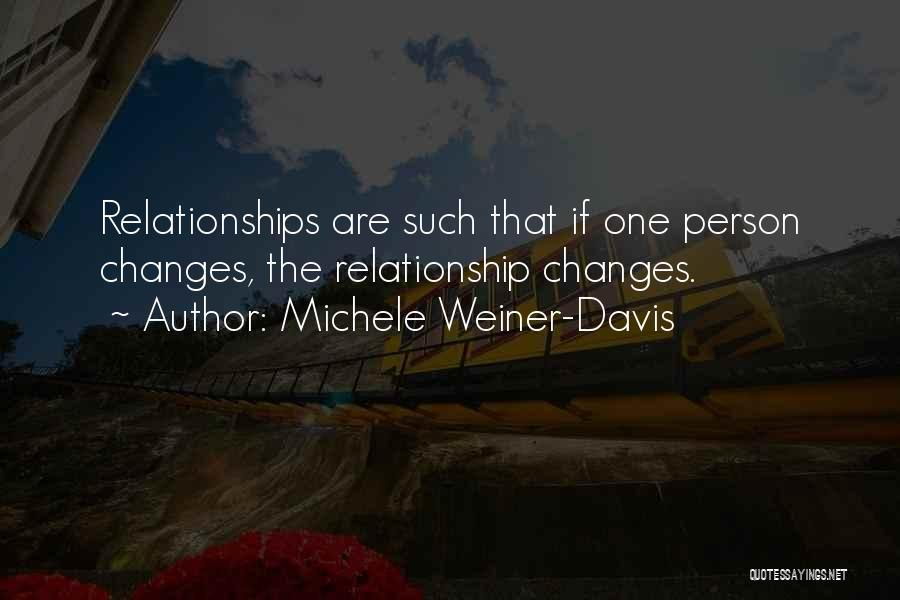 Marriage Counseling Quotes By Michele Weiner-Davis