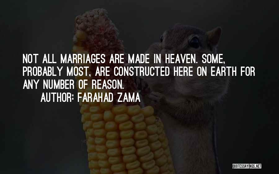 Top 15 Quotes Sayings About Marriages Made In Heaven
