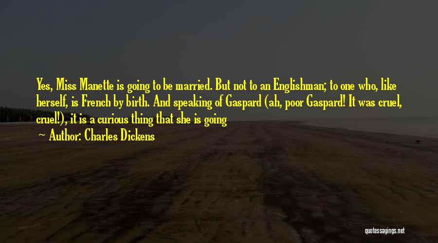 Married Quotes By Charles Dickens