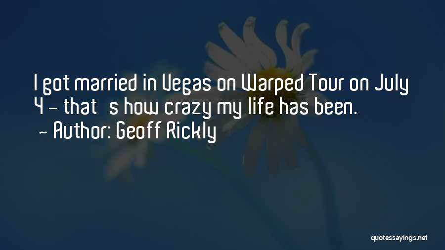 Married Quotes By Geoff Rickly
