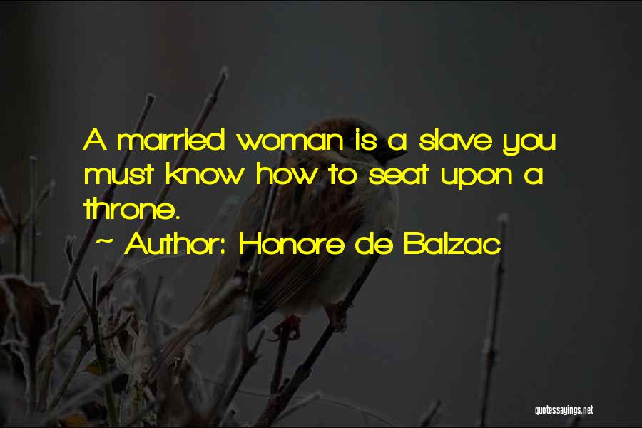Married Quotes By Honore De Balzac