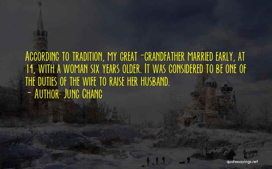 Married Quotes By Jung Chang