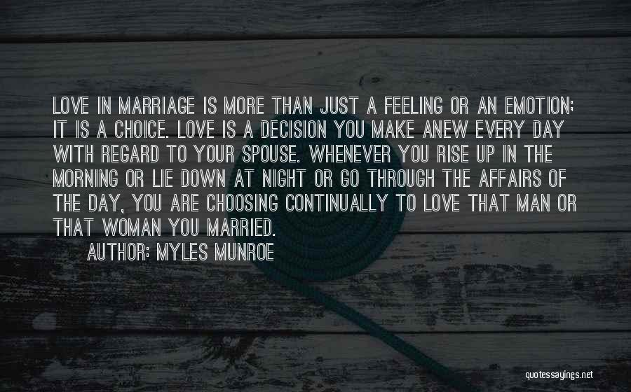 Married Quotes By Myles Munroe
