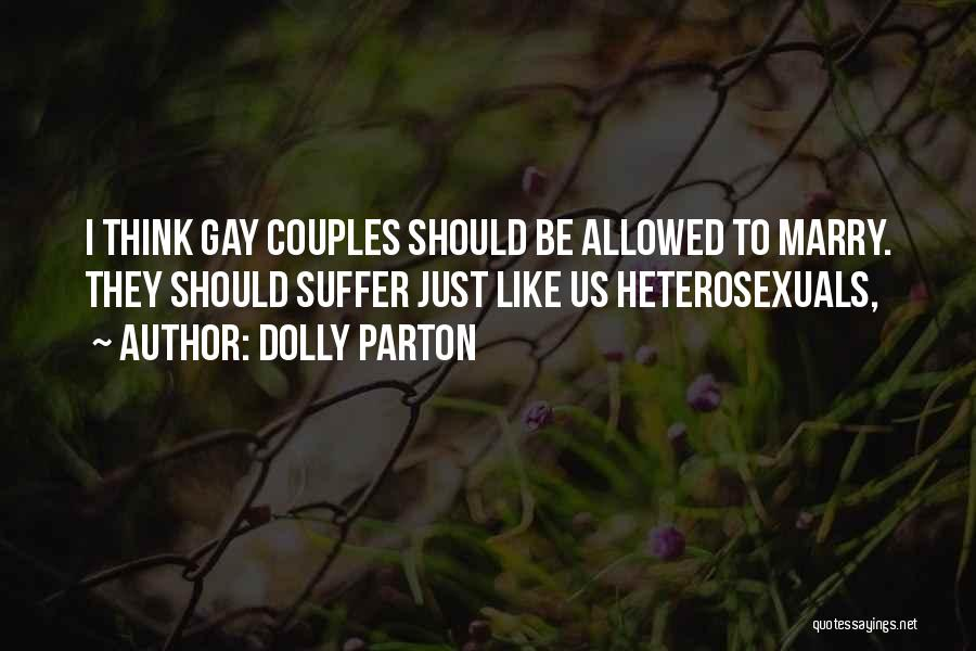 Marry Couple Quotes By Dolly Parton