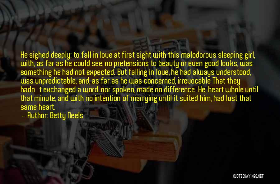 Marrying Your First Love Quotes By Betty Neels
