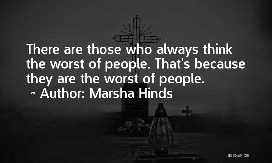 Marsha Hinds Quotes 2121848