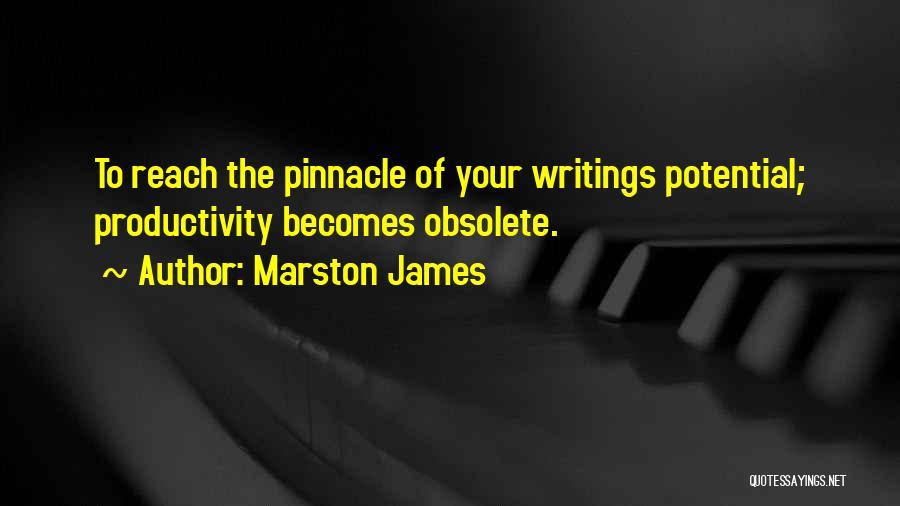 Marston Quotes By Marston James