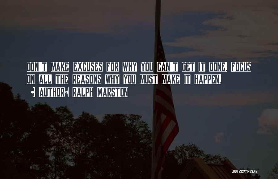 Marston Quotes By Ralph Marston