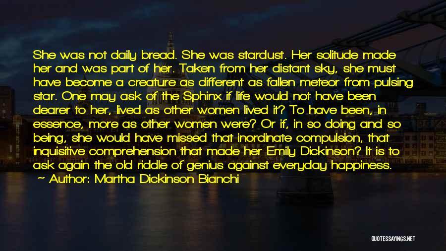 Martha Dickinson Bianchi Quotes 1248385
