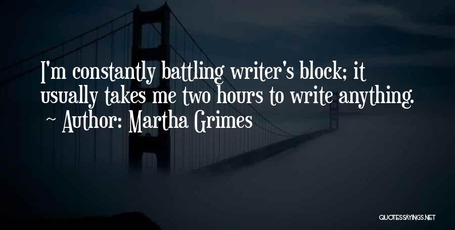 Martha Grimes Quotes 337964