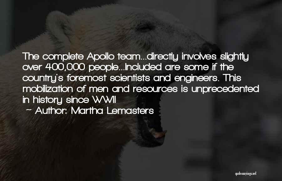 Martha Lemasters Quotes 1130059