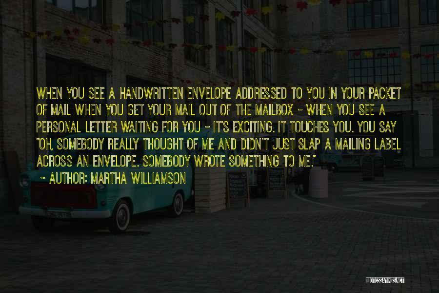 Martha Williamson Quotes 737828