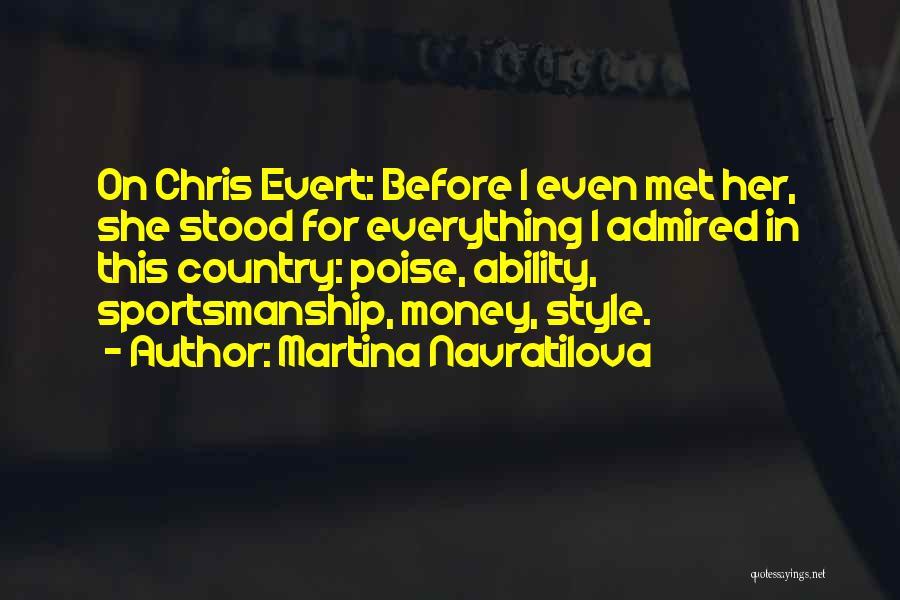 Martina Navratilova Quotes 1835062