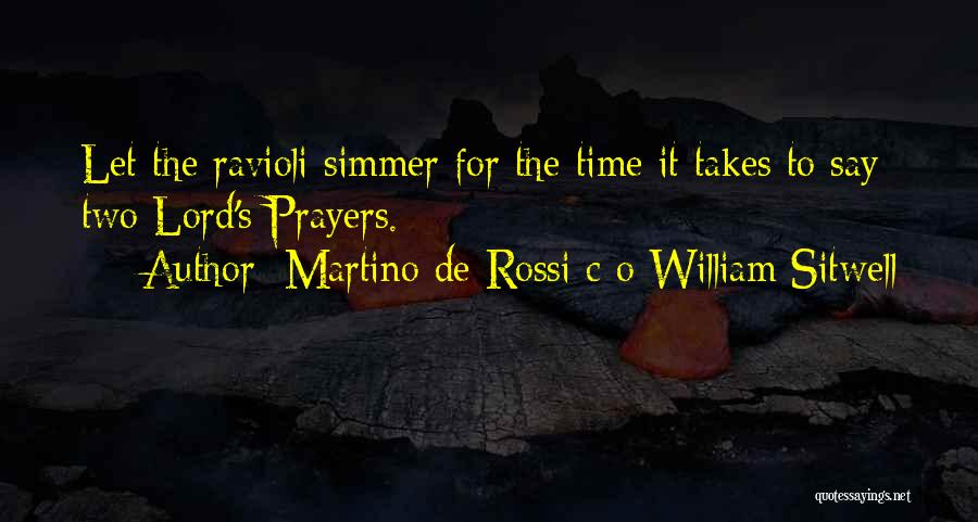 Martino De Rossi C O William Sitwell Quotes 1394671