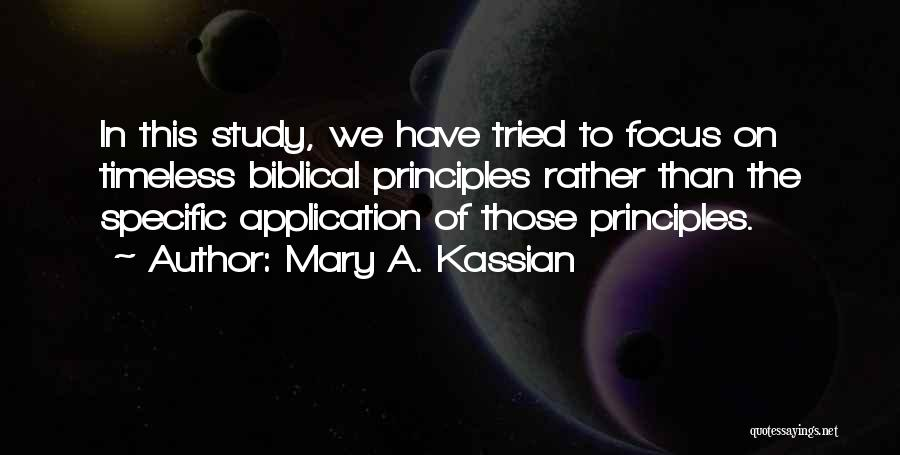 Mary A. Kassian Quotes 1217480
