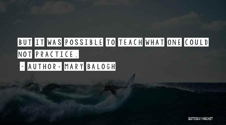 Mary Balogh Quotes 109981