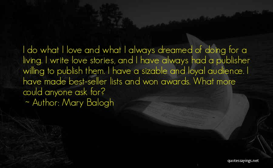 Mary Balogh Quotes 1187270