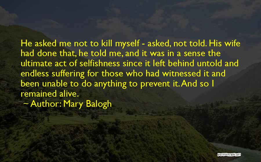 Mary Balogh Quotes 1276146