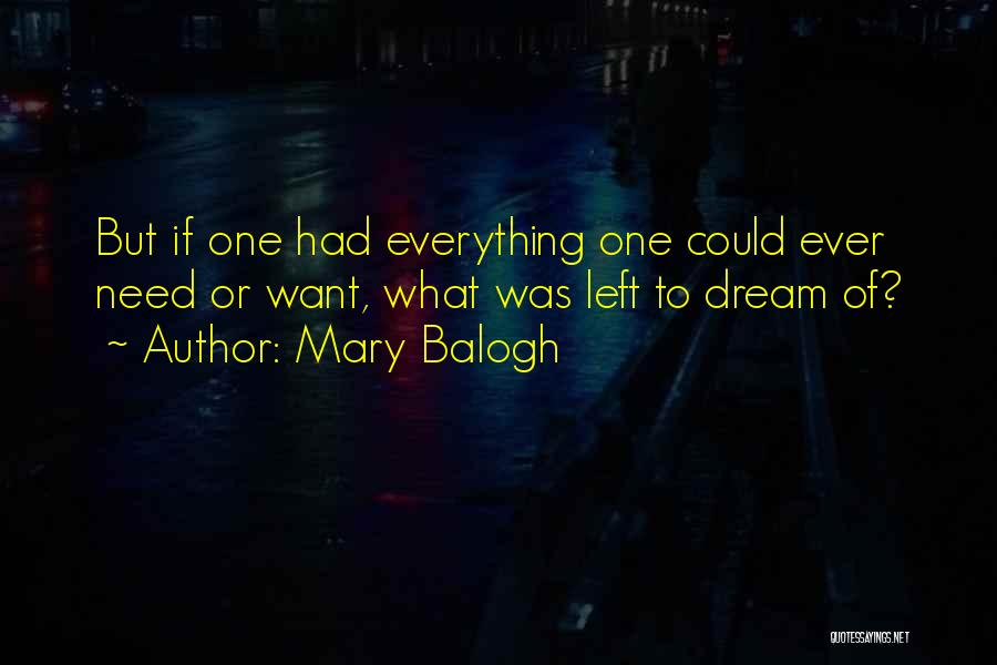 Mary Balogh Quotes 1846016
