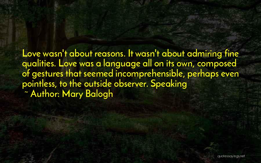 Mary Balogh Quotes 1986624