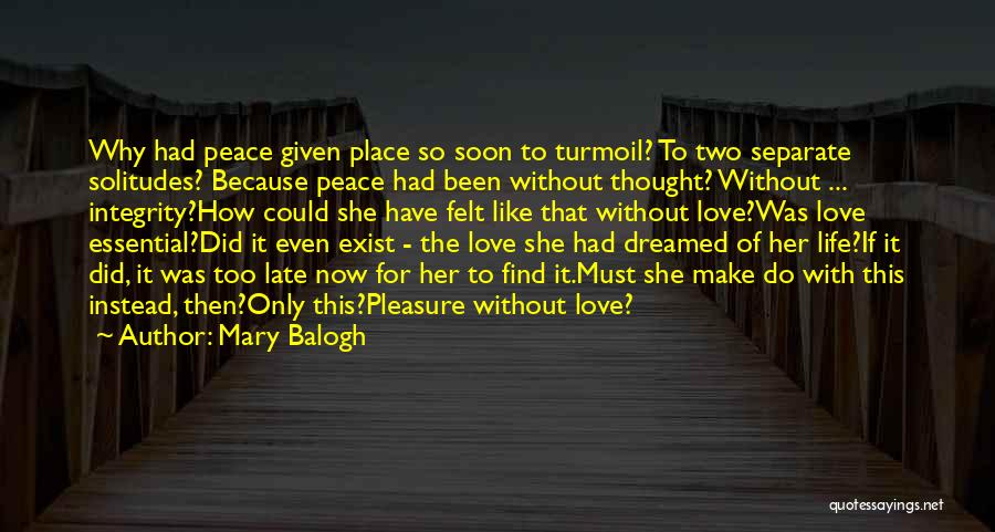 Mary Balogh Quotes 348624