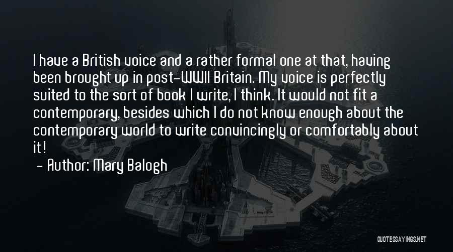 Mary Balogh Quotes 602655