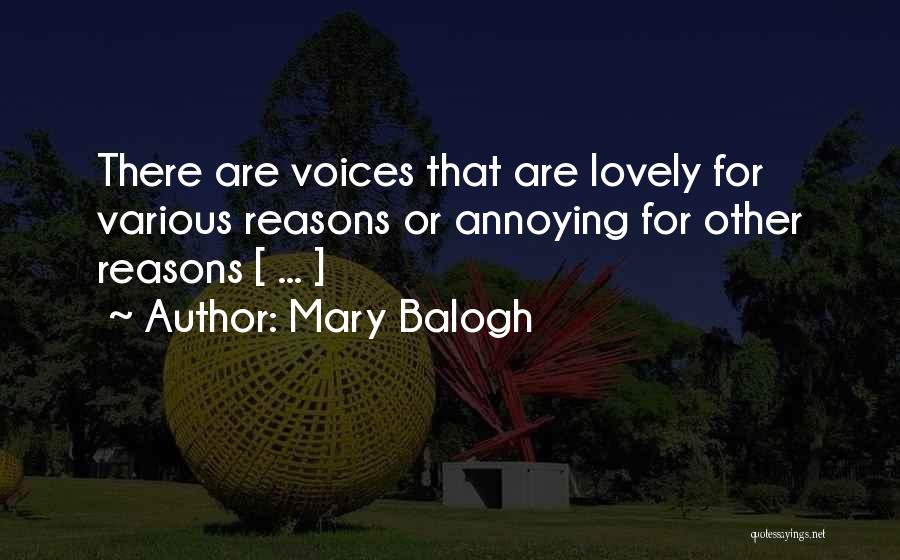 Mary Balogh Quotes 699625