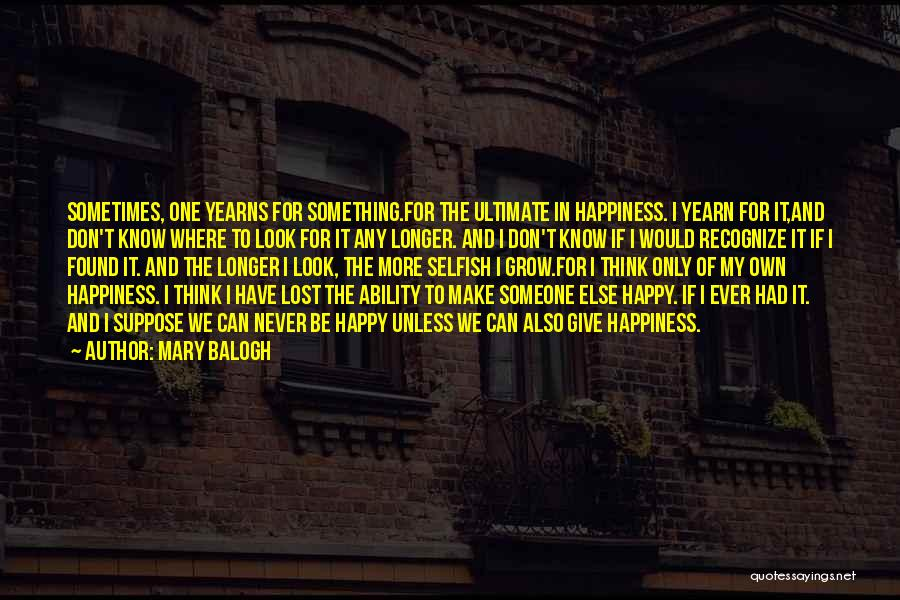 Mary Balogh Quotes 714880