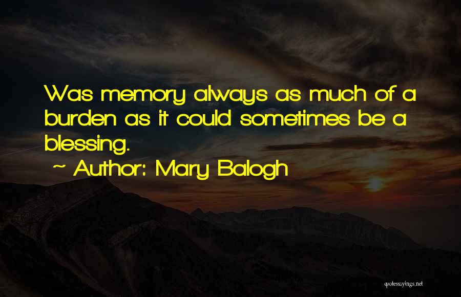 Mary Balogh Quotes 757212