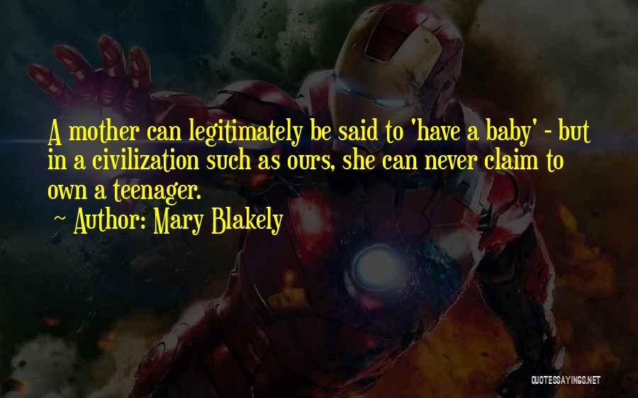 Mary Blakely Quotes 2130281
