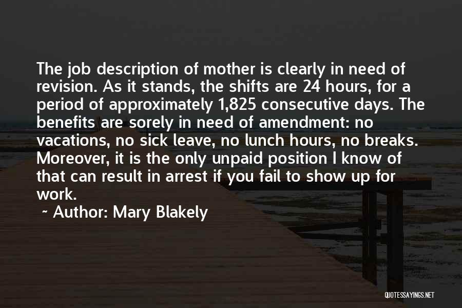 Mary Blakely Quotes 255876