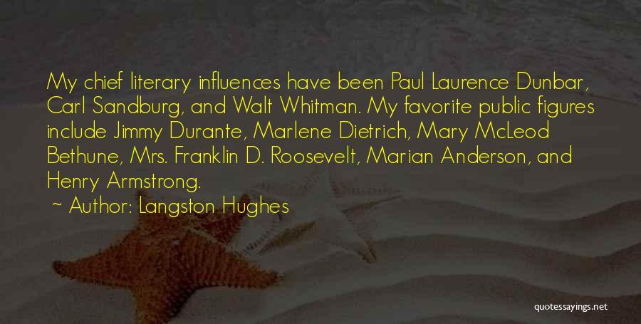 Mary Dunbar Quotes By Langston Hughes
