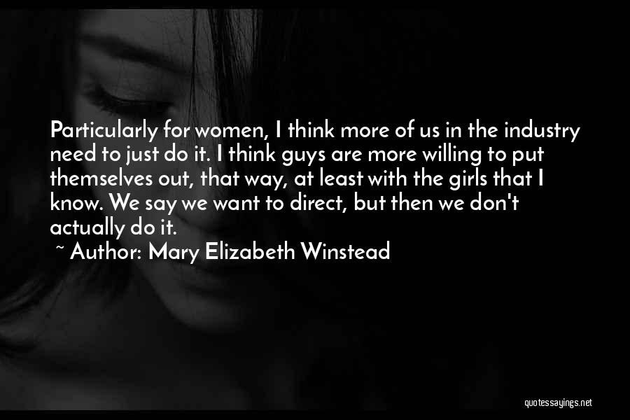 Mary Elizabeth Winstead Quotes 107401