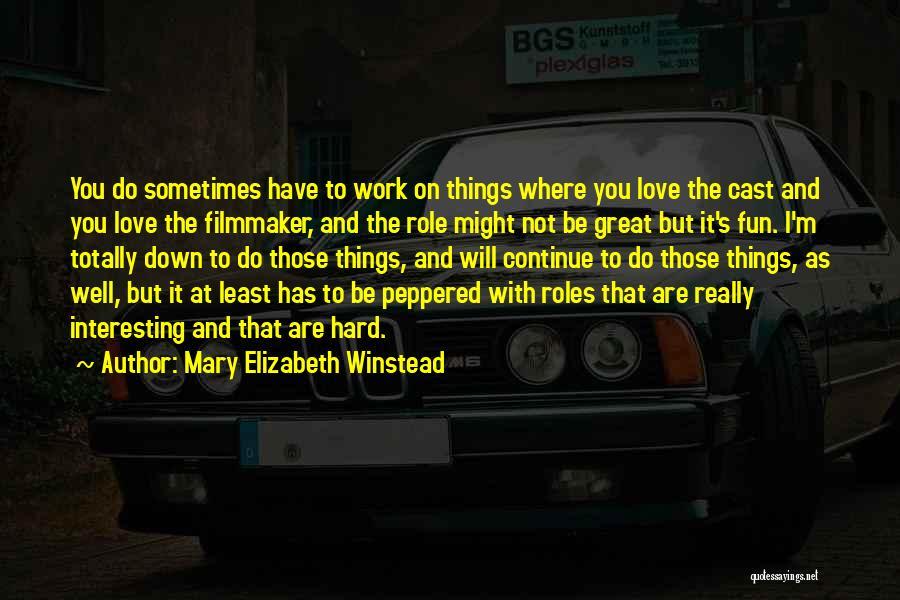 Mary Elizabeth Winstead Quotes 113154