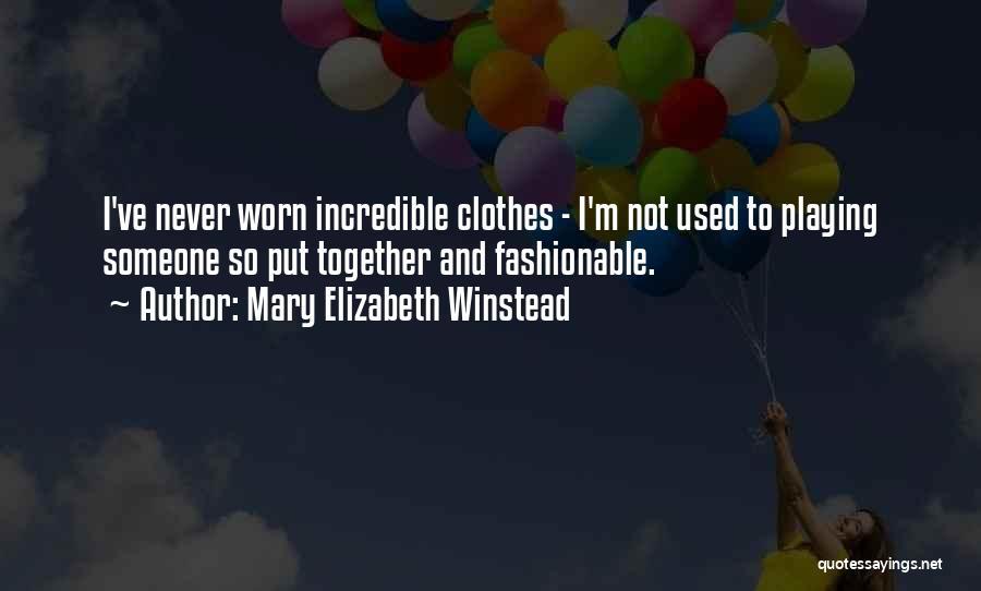 Mary Elizabeth Winstead Quotes 1166843