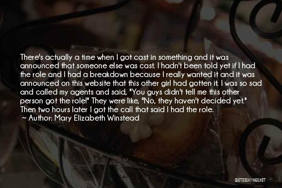 Mary Elizabeth Winstead Quotes 1418277