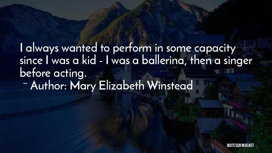 Mary Elizabeth Winstead Quotes 1420789