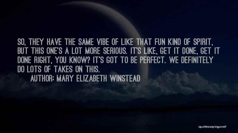 Mary Elizabeth Winstead Quotes 1537869